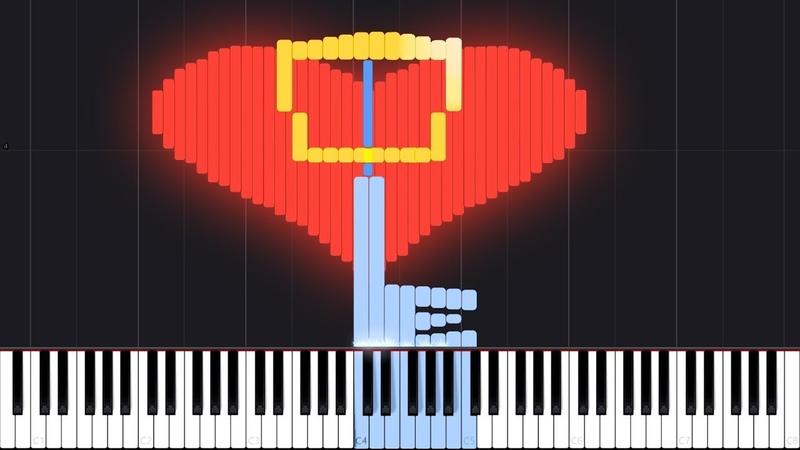 Dearly Beloved - Kingdom Hearts [Piano Tutorial] (Synthesia) Akmigone
