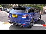 Land Rover Range Rover Overfinch GT SVR - LOUD REVS!