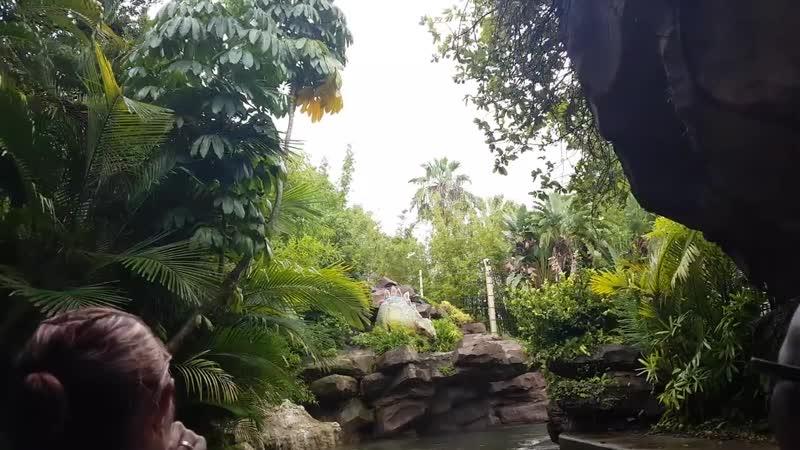 JURASSIC PARK RIDE Universal Studios Orlando Florida