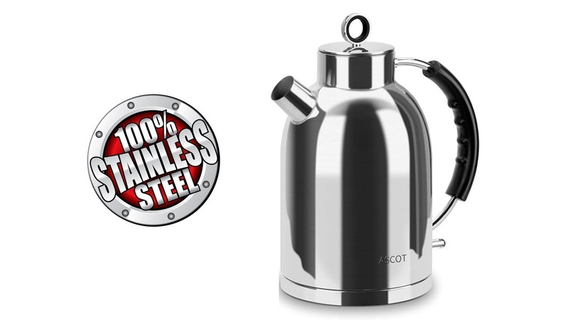 100 STAINLESS STEEL ELECTRIC KETTLE ASCOT