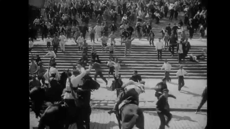 Le Cuirassé Potemkine - Les escaliers dOdessa