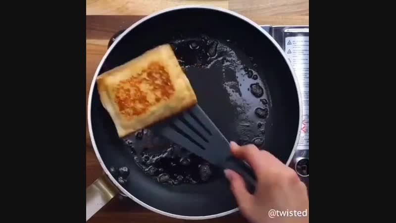 Гренки на завтрак uhtyrb yf pfdnhfr