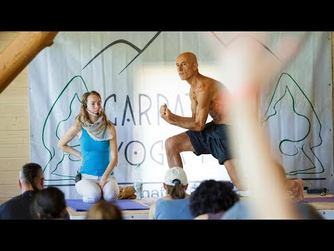 Йога, асаны и танец, клас проводит Анастасис Котсогианис (Греция)