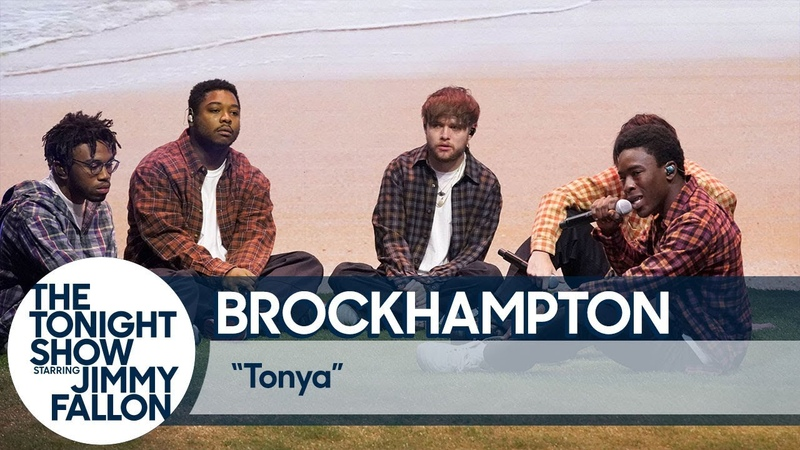 BROCKHAMPTON f/ Jazmine Sullivan serpentwithfeet - Tonya (Live @ The Tonight Show Starring Jimmy Fallon)