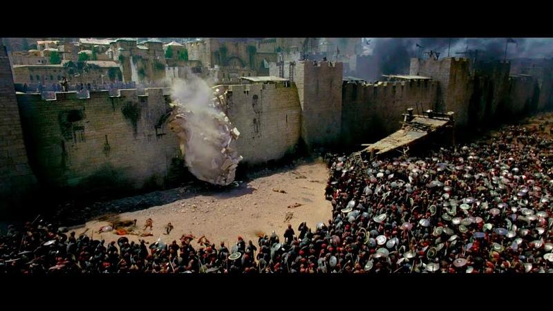 Финальный Бой у Стен Иерусалима / Царство небесное(2005)Момент HD