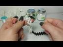 Как украсить сланцы с бисером и бусинами