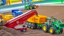 R/C trucks, tractors and more in Action on a NEW GIGANTIC DISPLAY!