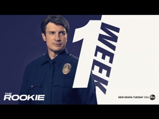 Reporting for duty. #TheRookie premieres in ONE WEEK!