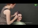 Свадебная прическа в греческом стиле Greek wedding hairstyle парикмахер тв parik