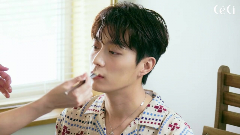 [BEHIND] Yoon Dujun X Ceci - behind cover filming (Aug 2018 issue)