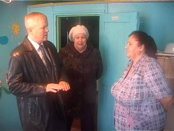 Визит главы ЛГО в д. Матвеево. 29.10.2013
