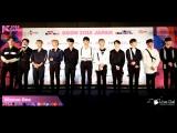 180413 Красная дорожка KCON 2018 в Японии (Отрывок с Wanna One)