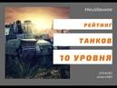 Архивы рачка Лучшие и худшие танки десятого уровня World of Tanks Console