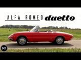 ALFA ROMEO DUETTO 1750 SPIDER VELOCE 1969 - Test drive in top gear   SCC TV