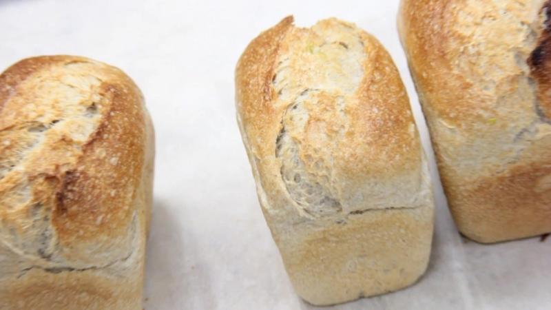 Французский ремесленный хлеб в Малинниках!