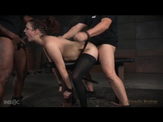 (fuck machine, bdsm, bondage, kink.com, orgasm, hitachi, секс, порно, sex, domination, forced, бдсм, оргазм, вибратор, сквирт)