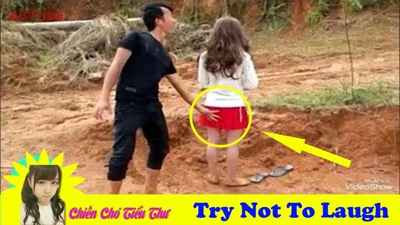 Đố Bạn Nhịn Được Cười ● Hài Trung Quốc Cười Ra Nước Mắt P1 ● Funny Video Try Not To Laugh