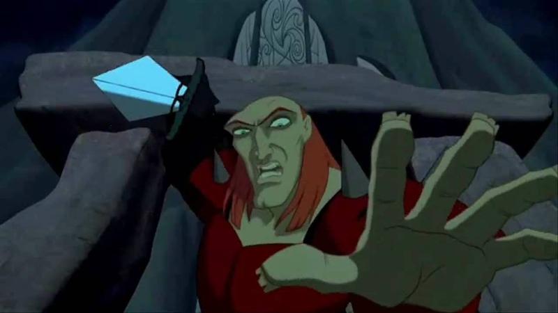Animated Movie Villains (Non-Disney): Monster