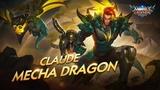 Claude new skin | Mecha Dragon | Mobile Legends: Bang Bang!