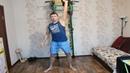 Тренировка на выносливость! 200 рывков гирей 16 кг, 200 отжиманий