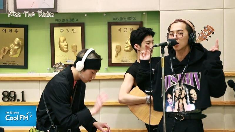 송민호 '거울 (원곡: 양동근)' 노래방 라이브 /180424[키스 더 라디오]