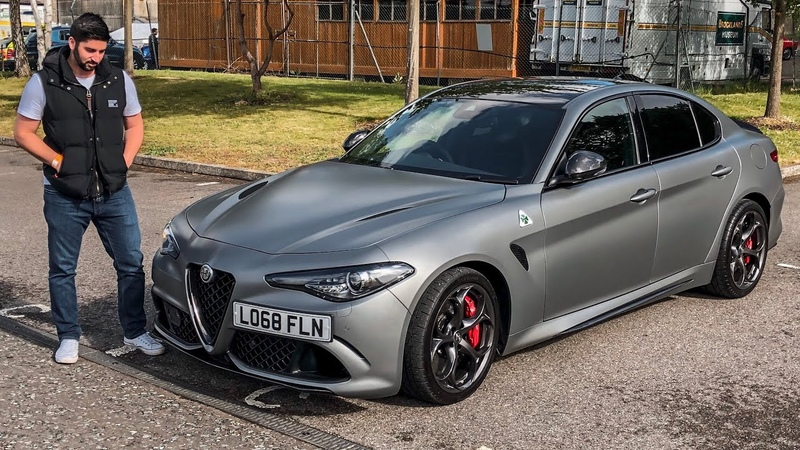 Here Is The Alfa Romeo Giulia Quadrifoglio N Ring Limited Edition!!