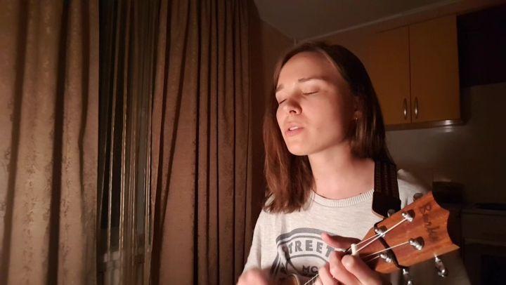 """@abrajenina on Instagram: """"Avicii - Wake me up ukulele cover ukulelecover укулеле avicii wakemeup"""""""