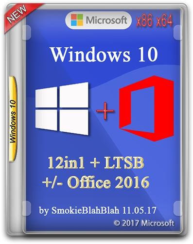 Windows 10 • Windows 10 (x86/x64) 12in1 + LTSB +/- Office 2016 by