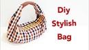 Diy stylish handbag【原创手作包教学】超级创意手作包,巧小但容量大❤❤FREE TEMPLATE DOWNLOAD
