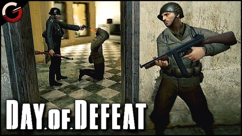 OLD SCHOOL WWII SHOOTER Back to the Gaming Roots Day of Defeat Source Gameplay