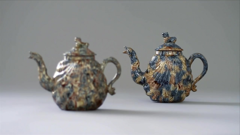 How was it made An Agate Teapot by Michelle Erickson