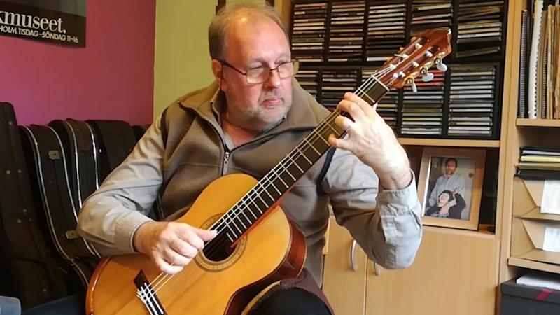 Vals Venezolano El Marabino by Antonio Lauro. Enrique Bocaccio Guitarra
