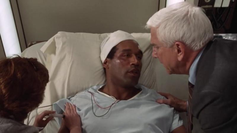 Отрывок из фильма Голый пистолет / В больнице. Думаю, мы сможем спасти руку вашего мужа... Куда вам её выслать?