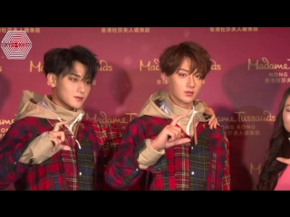 [РУСС. САБ] 180502 Z.TAO @ Wax Figure Unveiling at Madame Tussauds in Hongkong