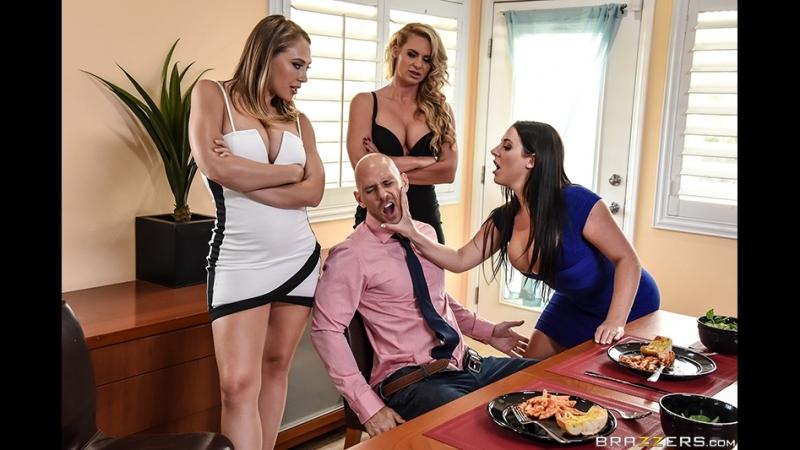 Brazzers PLIB Pornstars Like It Big. Dinner For Cheats Angela White, Kagney Linn Karter, Phoenix Marie Johnny Sins