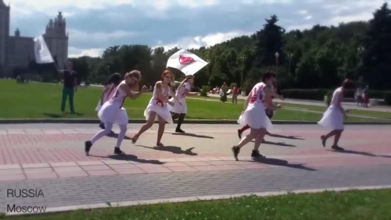 Bloodball Flashmob 2012 - Official Film
