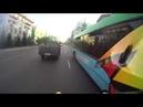 Житель Красноярска устроил гонки на квадроцикле с мотовзводом ДПС