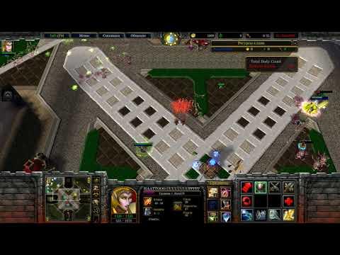 Warcraft III Frozen Throne: Custom Hero Footies v4.0c