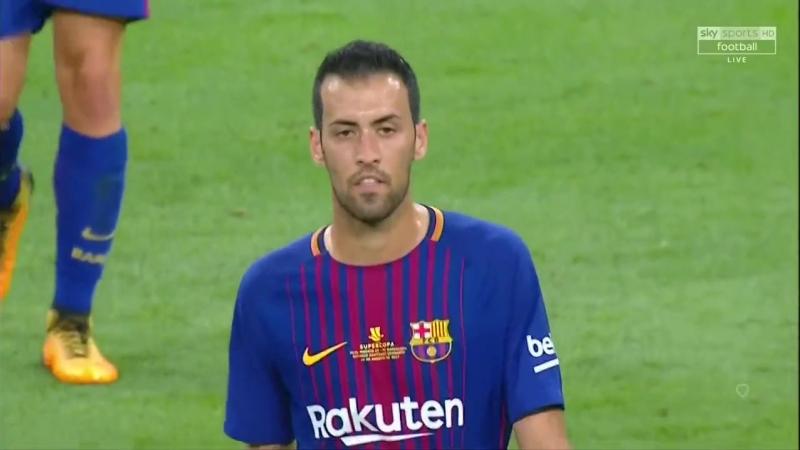Real vs Barca Supercup 2017