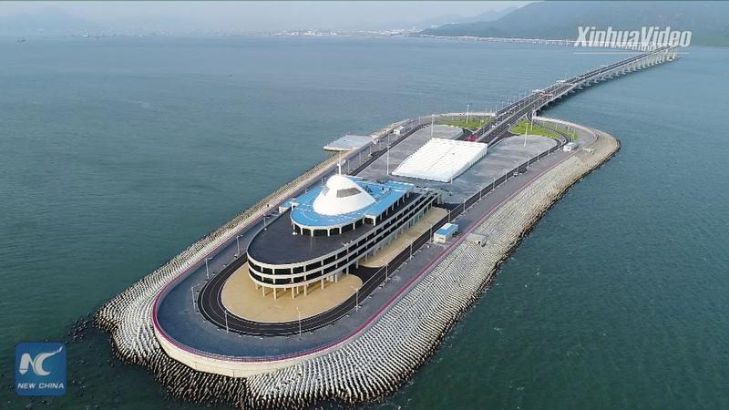 Mega project! Take a ride on world's longest sea bridge