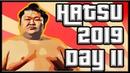 SUMO Hatsu Basho 2019 Day 11 Jan 23rd Makuuchi ALL BOUTS