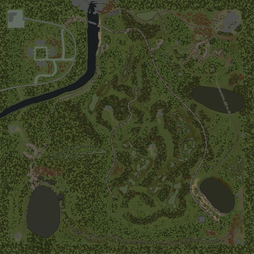 "Карта ""Леший водит"""