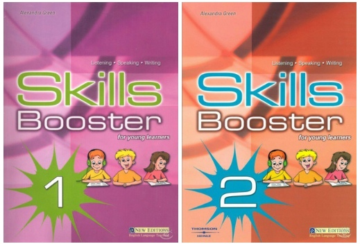Skills Booster for young learners 1, 2 by Alexandra Green (SBs+CDs)