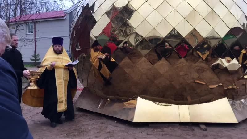 На Свято-Вознесенском соборе появился новый купол