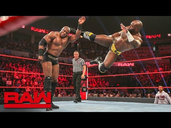 Apollo Crews vs. Bobby Lashley: Raw, Jan. 21, 2019