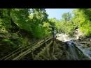 Новомихайловский 2018 Большой водопад на Белых скалах Прогулки вдоль Чёрного моря