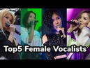 QPOP:Top5 Female Vocalists |Juzim,Crystalz,Ziruza etc.|2018