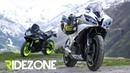 Alps   Superbikes meet Mountains   Ridezone   BMW S1000RR, GSX-R600, Yamaha R6