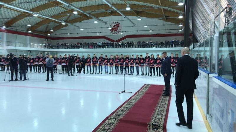 Закрытие сезона в хоккейной школе Авангард
