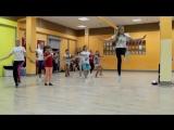 Современные танцы дэнсхолл, вог и хип-хоп в Студии танцев